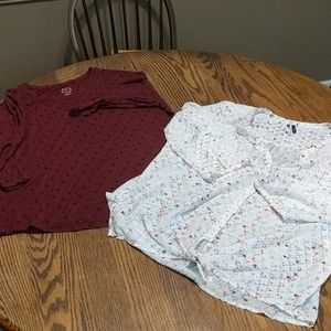 Maurices women's tops